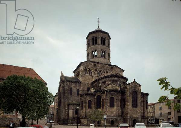 View of the Benedictine abbey (photography)