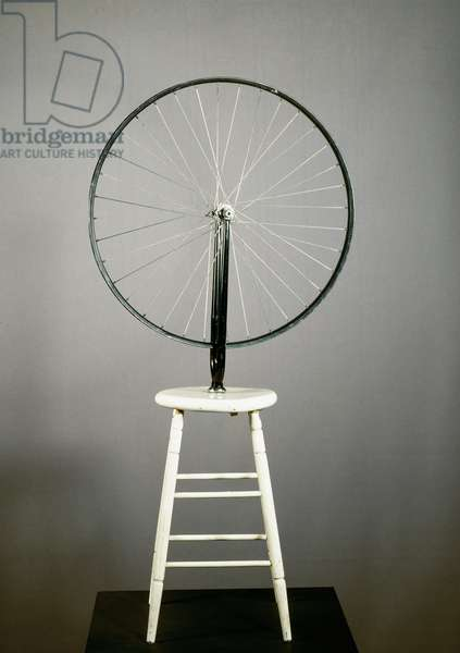 Ready-made bicycle wheel by Marcel Duchamp (1887-1968) 1913 Dim. 126.5 cm Private collection