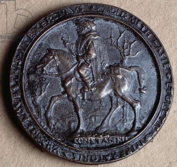 Mehmet II the Conqueror (bronze medal, 15th century)