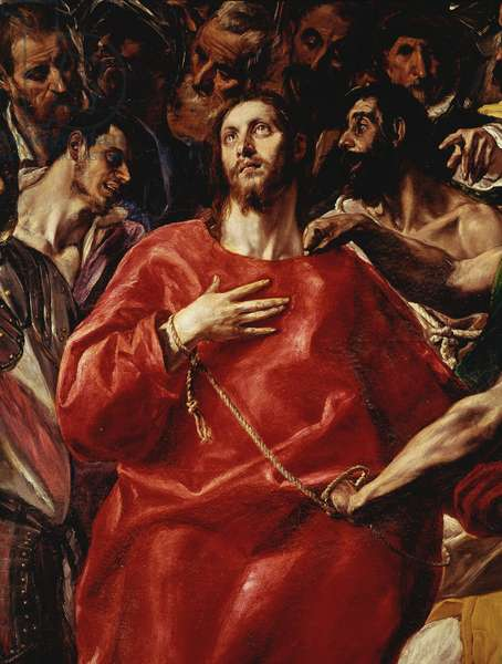 The Spoliation of Christ. Detail (oil on canvas, 1577-1579)