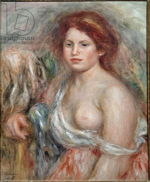 Portrait of a painter's model, 1916 (oil on canvas)