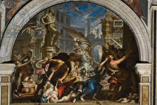 The massacre of the innocent, c.1690-91