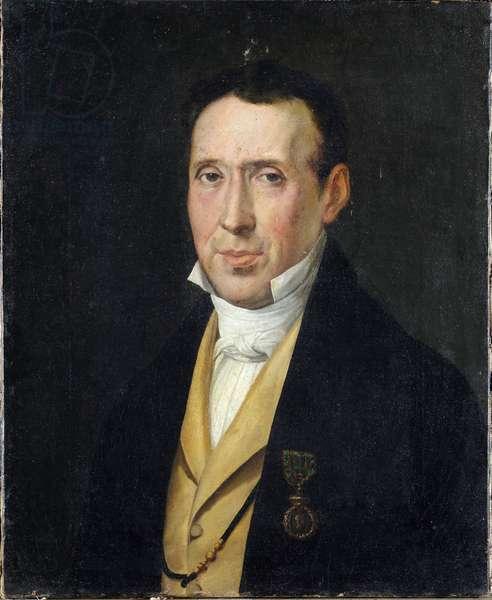 Portrait of Andrea de Marchi da Recco Painting by Rosa Carrea Bacigalupo (1794-1854) Genes, Galleria d'Arte Moderna