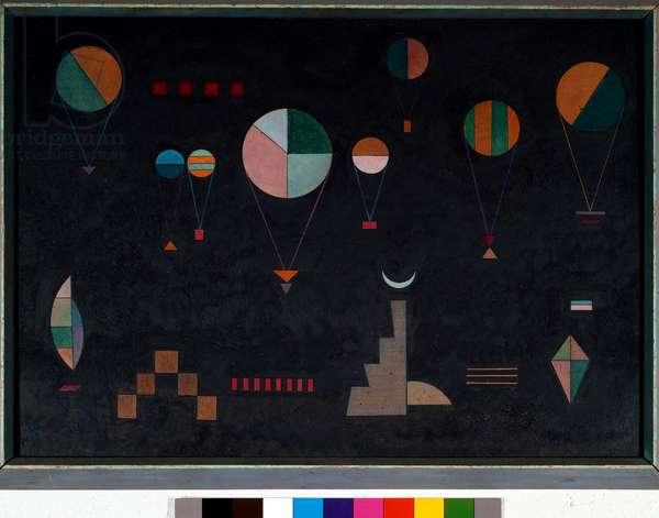 Flach tie, 1930 (Oil on cardboard)