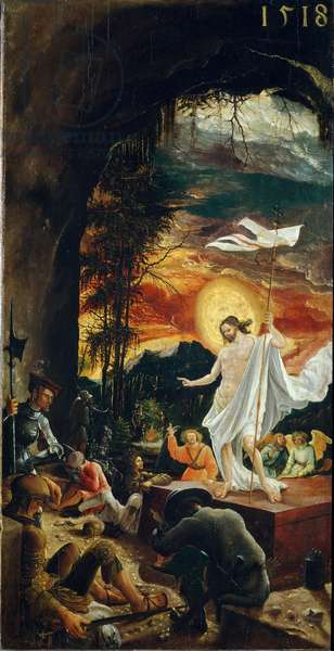 The resurrection of Christ, 1518 (painting)
