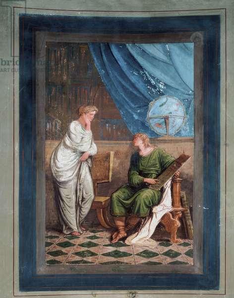 German astronomer Johannes Kepler (fresco, 1794)