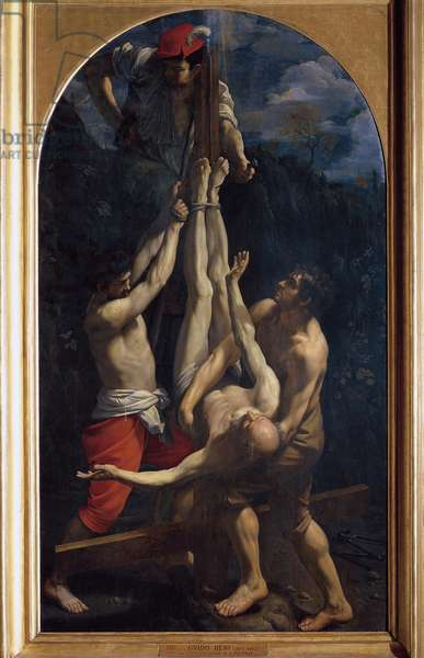 The Crucifixion of St. Peter (Painting, 1604-1605)