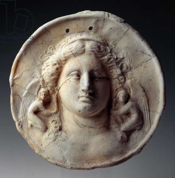 Disc with Aphrodite ,