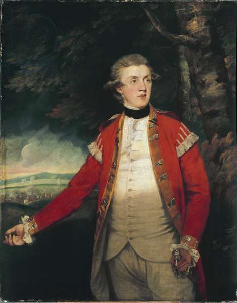Portrait of Lord Donoughmore (John Hey Hutchinson, 1757-1832), Member of the Irish Parliament. Painting by Sir Joshua Reynolds (1723-1792), circa 1788-1790, oil on canvas, 100x126 cm. Milano, Pinacoteca di Brera