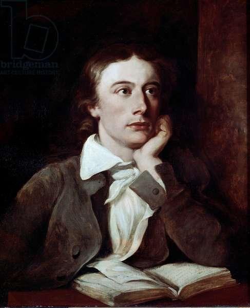 Portrait of the British Poet John Keats