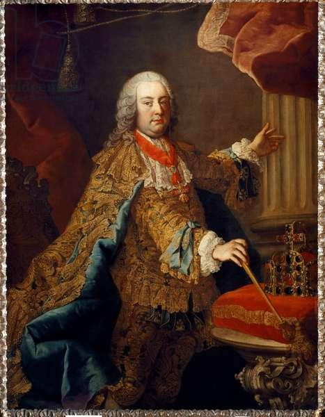 Francis I, Holy Roman Emperor, 1740 (oil on canvas)
