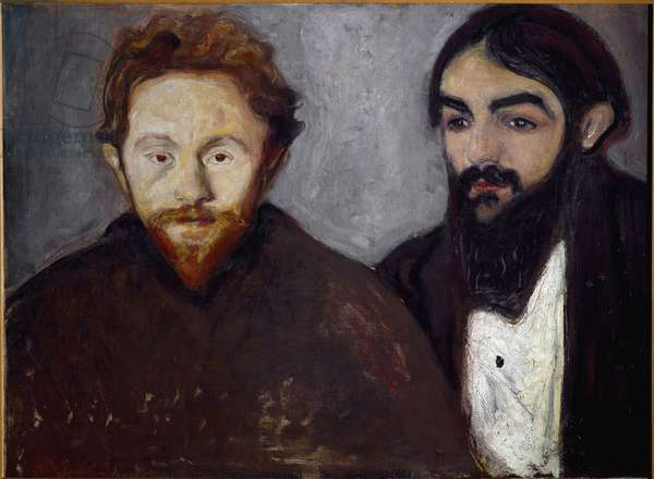Double Portrait (oil on canvas)