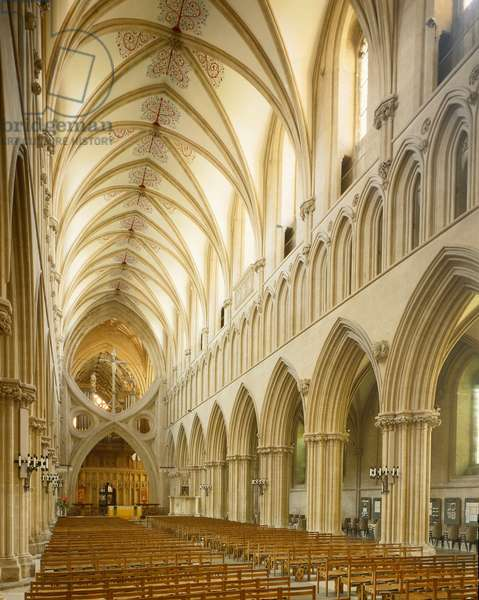 Internal view of the Cathedral, 1174-1191 (photography)