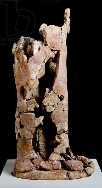 Apollo. 5th century BC (terracotta sculpture)