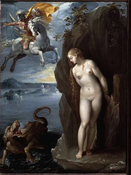 Perseus and Andromeda  (Painting, 1607)