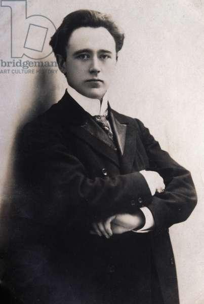 Portrait of Felix von Weingartner (1863-1942) Austrian composer and conductor