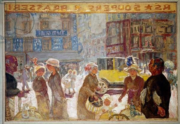 Place de Clichy (Oil on canvas, 1912)