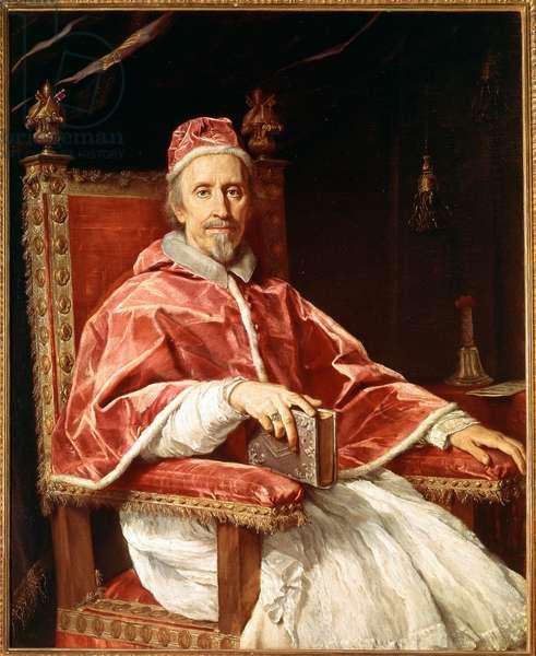 Portrait of Pope Clement IX (oil on canvas, 1669)