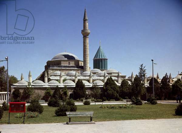 View of Alâeddin Mosque, Konya, Turkey (photo)