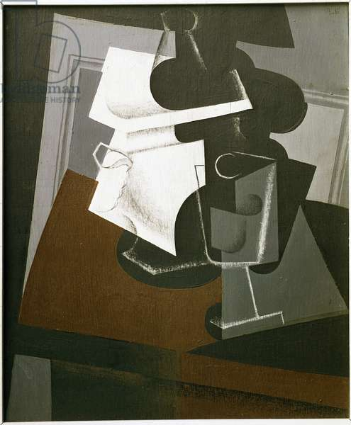 Still Life on a Table - Oil on wood, 1916