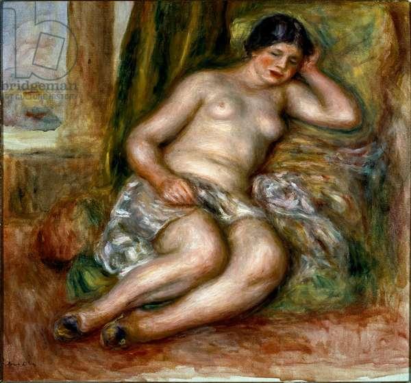 Sleeping odalisque, 1915-1917 (Oil on canvas)