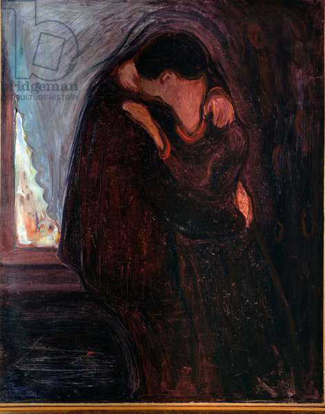 The Kiss, 1897 (oil on canvas)