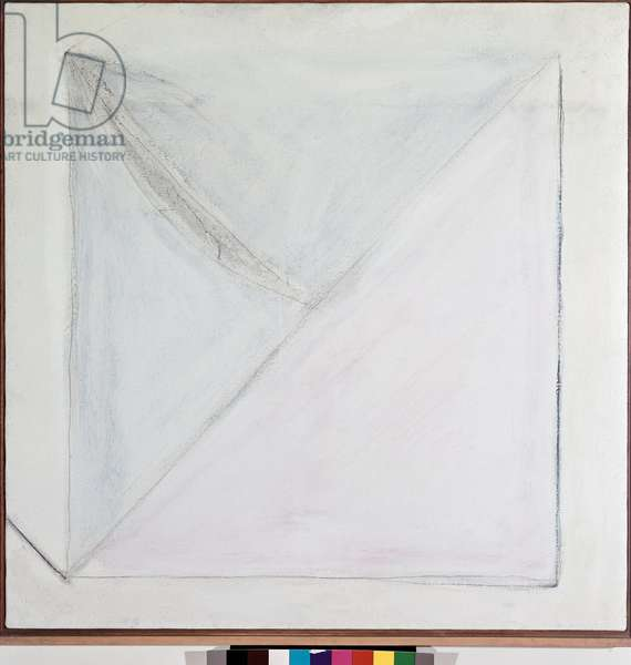 Square kite (Mixed media on canvas, 1966)