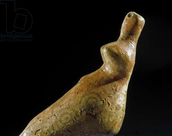 Female statuette from Jalangac Depe, 4000-3500 BC (clay)
