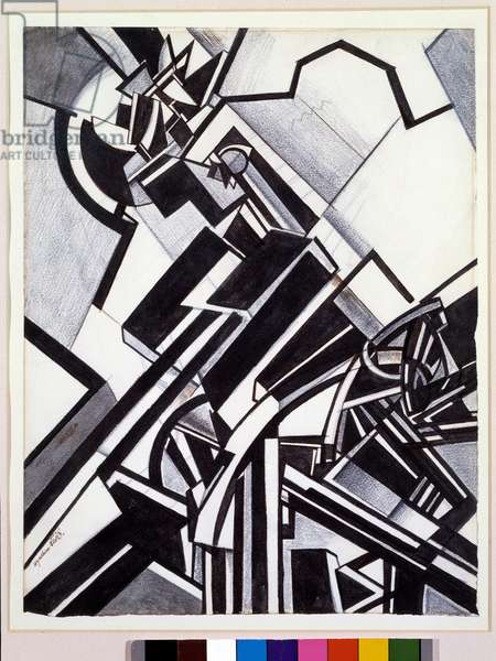 Timon d'Athenes (Pen and Gouache Drawing, 1913-1914)