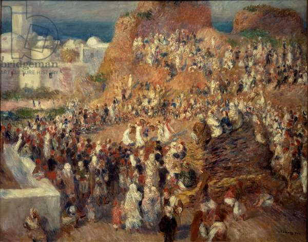 The mosque or Arab Festival in Algiers, 1881