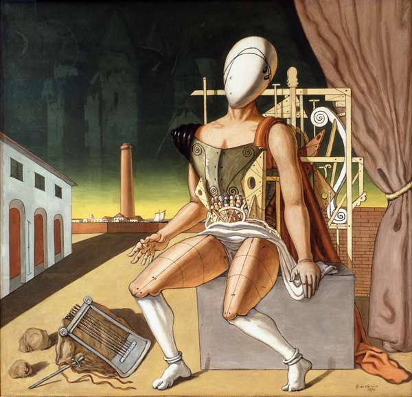 The weariness of Orpheus, 1970 (oil on canvas)