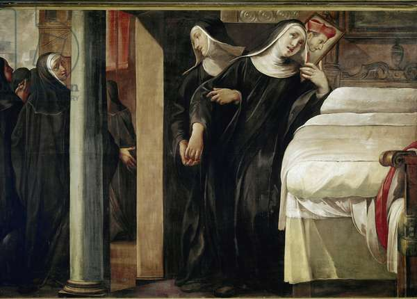 The miracle of Sister Paola Giustini  (oil on canvas, 1610)