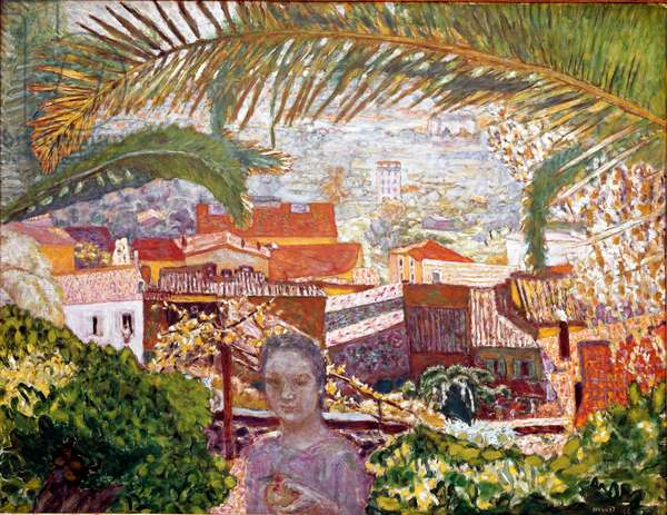 The Palm Painting by Pierre Bonnard (1867-1947) 1926 Washington, The Phillips Collection