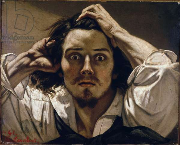 The Desperate Man (Self Portrait), 1843-45 (oil on canvas)