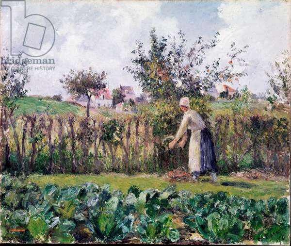 In the garden, 1878 (oil on canvas)