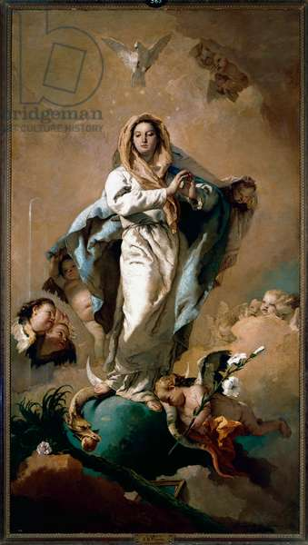 Immaculate Conception, 1767-69 (oil on canvas)