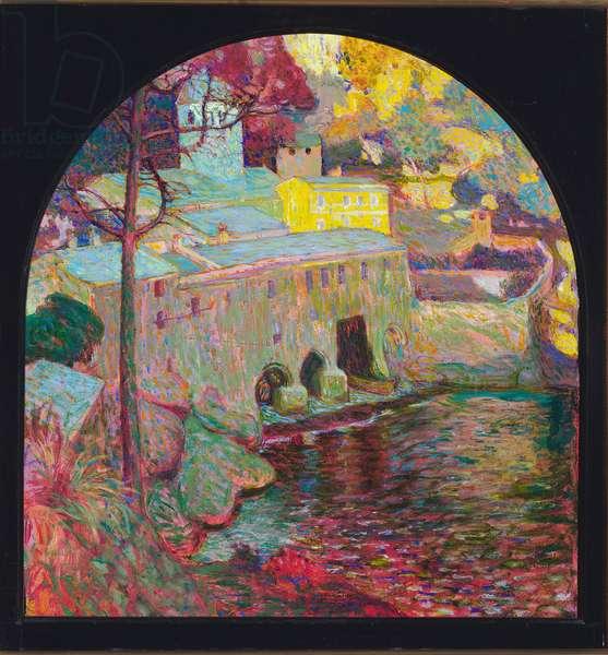 San Fruttuoso, c.1913 (oil on canvas)