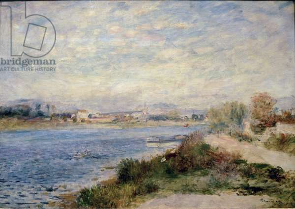 The Seine in Argenteuil, 1873 - Oil on canvas