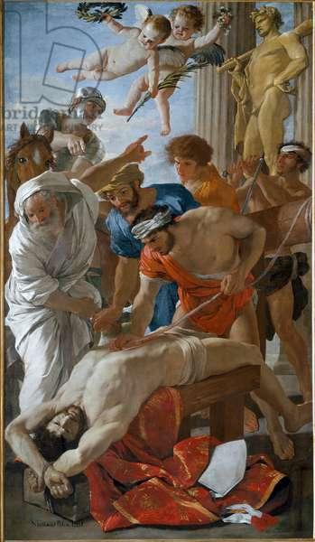 Martyrdom of Saint Erasmus, 1629 (oil on canvas)