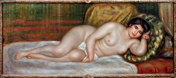 Naked Woman Couchee (Gabrielle), 1906 (oil on canvas)