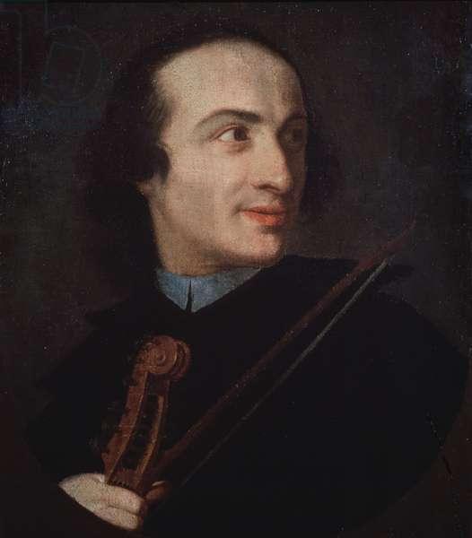 Portrait of Giuseppe Tartini (1692-1770) Italian violinist and composer.