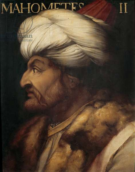 Portrait of the Ottoman Sultan Mehmed II called the Conqueror (painting)