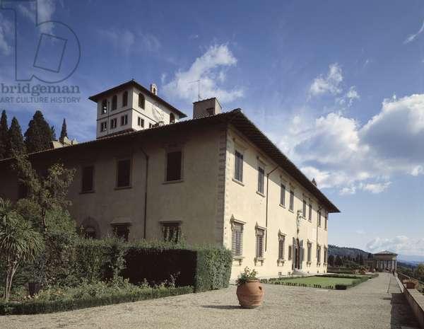 Villa mediceenne de la Petraia (villla medicea della petraia), sesto fiorentino, Tuscany, Italy