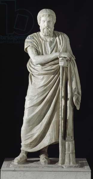 The poet Homer (marble)