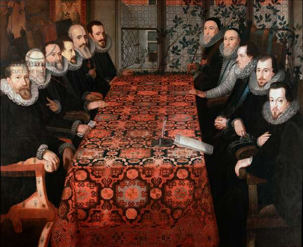 Somerset House Conference, 1604 (oil on canvas)