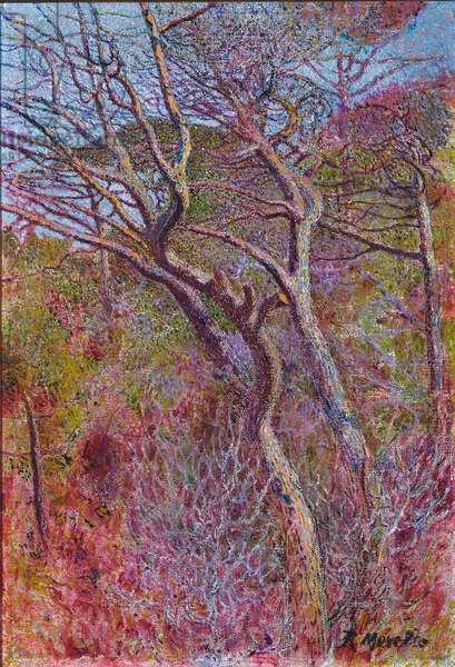 Landscape, Studio, c.1907 (oil on canvas)