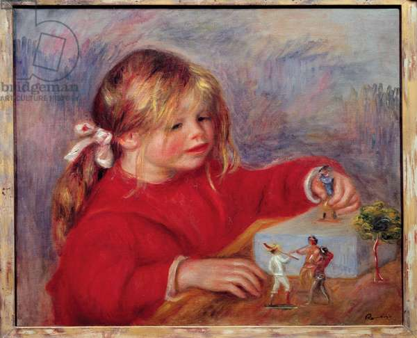 Claude Renoir Playing, 1905 (oil on canvas)