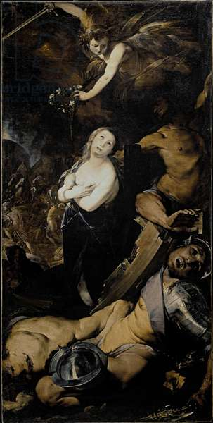 The Martyrdom of St Catherine Painting of the Cerano (Giovan Battista Crespi) (1567/8-1632) Milan, Santa Maria presso San Celso Italy