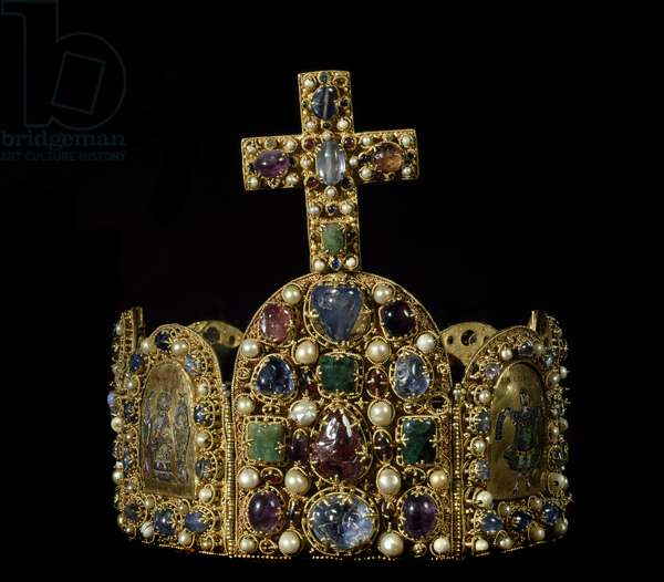 Crown of the Holy Roman Emperors (gold, pearls and enamel)