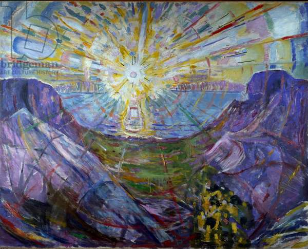 the sun, 1912 (oil on canvas)